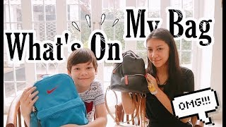 What's In My Bag | Kevin & Jessica | Bro & Sis Indonesia | Vlogger Anak Indonesia