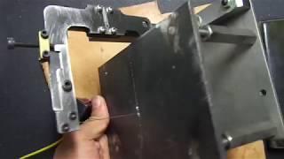 homemade mini scroll saw using LM guide and mini dc geared  motor 미니 스크롤쏘 구조와 기능