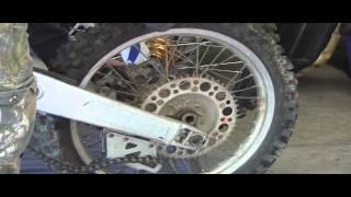 YZ125 Part 18: 2 Stroke  Rear Wheel & Brake Removal