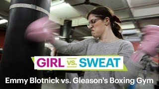 Emmy Blotnick vs. Gleason's Boxing Gym–Comedians Try Hot New Workouts–SELF