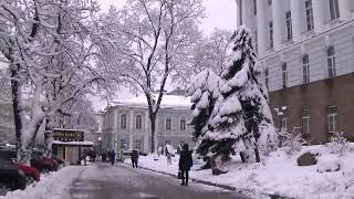 Kiev, UKRAINE: Зима, Мороз, Снег Кружится, Летает и Тает... 2018
