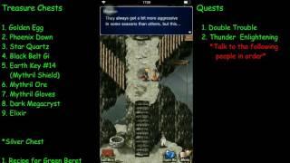 FF Brave Exvius Felicitas Town - Treasure Chests & Quests