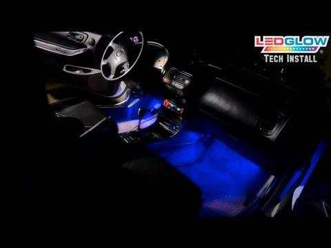 LEDGlow s 4 Piece LED Interior Lighting Kit Installation Video