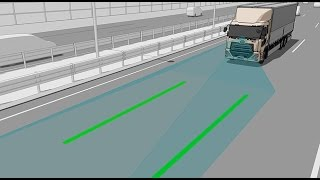 UD Trucks – All-new Quon: Driver support system