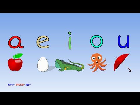 ♫ Fun and Fast Short Vowel Phonics Song
