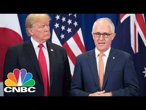 Xxx Mp4 LIVE President Donald Trump Meets With Australian Prime Minister Friday Feb 23 2018 CNBC 3gp Sex