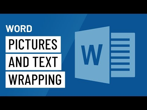 Word 2016 Pictures and Text Wrapping