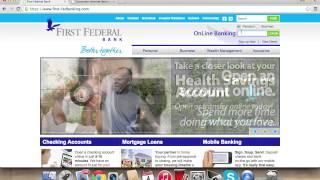 First Federal Bank Online Banking Login | How to Access your Account