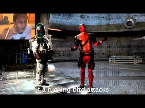 Deadpool VS Boba Fett Rap Battle REACTION   NOPE, DEADPOOL