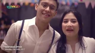 prilly latuconsina amp; ardhito pramono39;s new music project exclusive video clip shooting