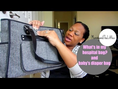 What's in my/baby's hospital bag | LABOR & DELIVERY