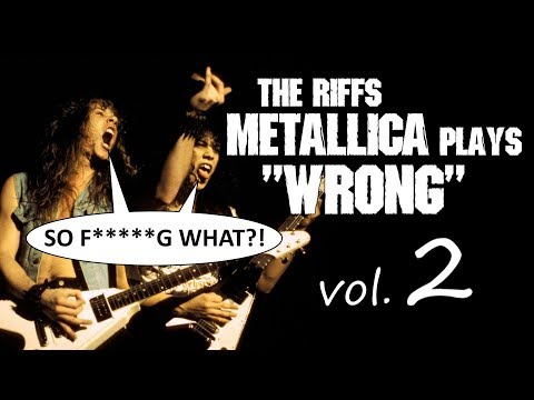 Blackened, Creeping Death & 5 more riffs Metallica plays