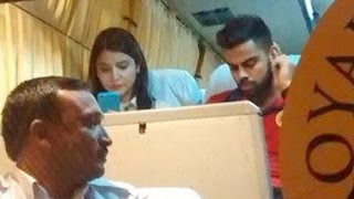Anushka Sharma Rides On The RCB Team Bus With Beau Virat Kohli
