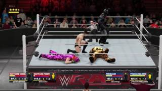 WWE 2K17_TWG CO ONWER JOKER And TWG Virgo Tag Against Fake Garbage