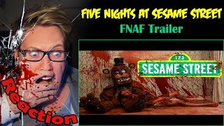 Five Nights at Sesame Street Trailer REACTION! | OH HELL NO! |