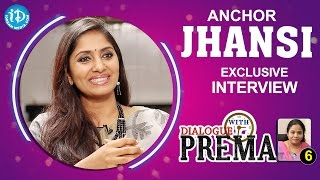 Anchor Jhansi Exclusive Interview || Dialogue With Prema #6 || #CelebrationOfLife