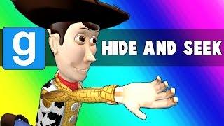 Gmod Hide and Seek - Parkour Gym Edition! (Garry