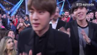 (ENG)BTS REACTION TO FANS, THEIR WIN, NICKI AND MILEY ( 방탄소년단 : Billboard Music Awards 2017 )