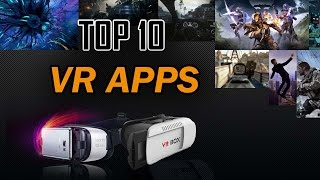 Top 10 BEST VR Android APPS 2016