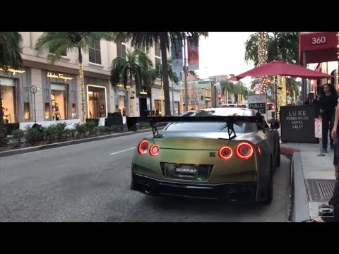 SUPERCAR SEARCHING IN LOS ANGELES Featuring Jake Paul Tanner Fox The Stradman and Effspot