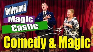 Christopher James Comedy Magic At The Magic Castle