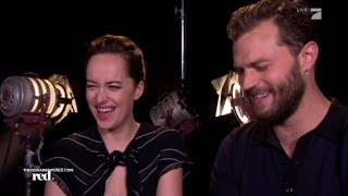 Jamie Dornan and Dakota Johnson interview with RED! Germany [9. Dec. 2016]