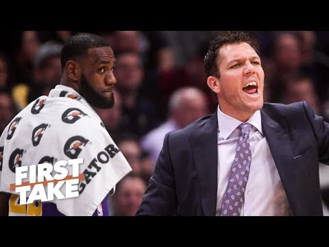 Lakers will fire Luke Walton after failed playoff push – Stephen A. First Take
