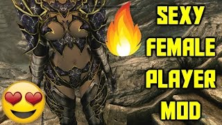 SKYRIM CONSOLE MODS - SEXY FEMALE ARMOR MOD!!! HOT SKYRIM BOOTY!! (XBOX ONE) REMASTERED
