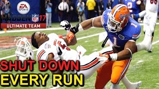 SHUT DOWN ALL RUN PLAYS MADDEN 17 TIPS ULTIMATE TEAM GAMEPLAY