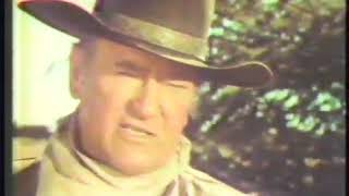 Cahill U.S. Marshall 1978 CBS Movie Promo