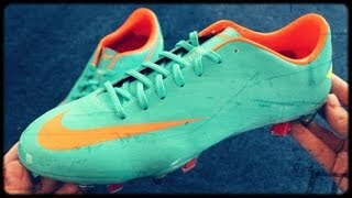 Nike Mercurial Vapor VIII FG Blue/Orange | Unboxing by Fussballboys
