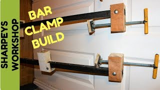 Easy diy bar clamps