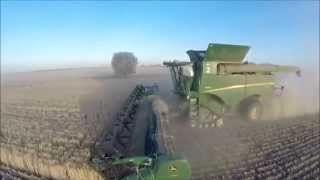 UAH Barley Harvest 2014