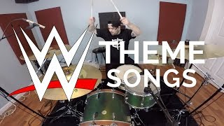 WWE WWF WRESTLING THEME SONGS ON DRUMS
