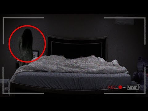 REAL GHOST CAUGHT ON CAMERA! (ACTUAL FOOTAGE)