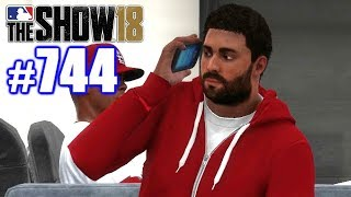 CALLING MY COACH FAT! | MLB The Show 18 | Road to the Show #744