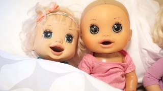 BABY ALIVE Monster And Ghost Story Come Alive While Camping! BABY ALIVE CAMPING