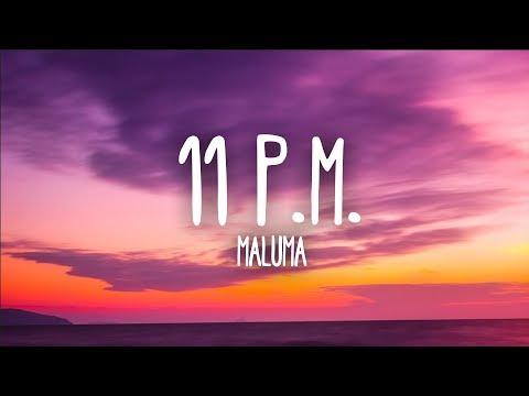 Maluma 11 P.M. Letra
