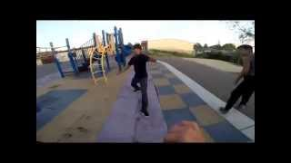 Crazy Parkour Chase, Ends in Fight(choreography)