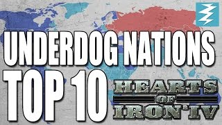 Top 10 Underdog Nations In Hearts of Iron 4 (HOI4)