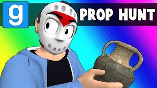 Gmod Prop Hunt Funny Moments - Oceans Elevens? (Garry's Mod)