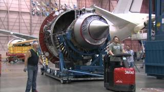 Time-lapse: Boeing 787-9 Dreamliner being assembled and painted