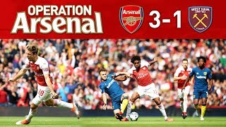 ARSENAL 3-1 WEST HAM - OUR FIRST WIN OF THE SEASON!