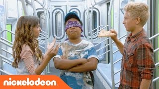 Game Shakers | Subway Smells Challenge! | Nick