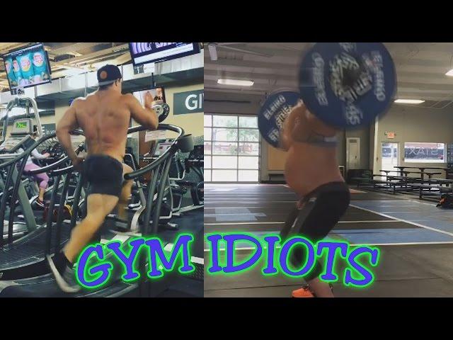 Gym Idiots - 9 Months Pregnant Crossfitter & Brad Castleberry Sprint PR