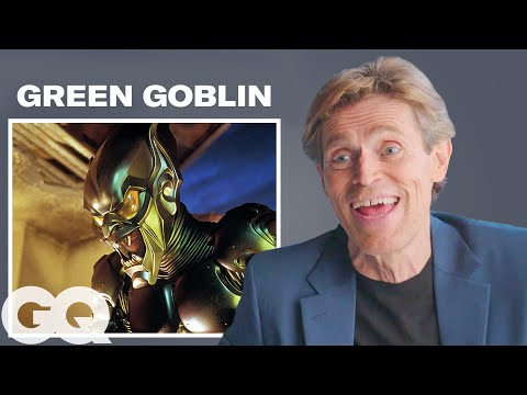 Xxx Mp4 Willem Dafoe Breaks Down His Most Iconic Characters GQ 3gp Sex