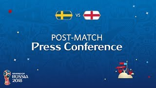 2018 FIFA World Cup Russia™ - SWE vs ENG - Post-Match Press Conference