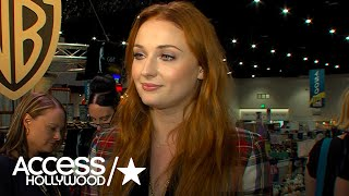 'Game Of Thrones' At Comic-Con: Sophie Turner On Sansa/Davos Scene; Going Off Book With Brienne