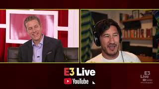 Markiplier Interview with Geoff Keighley at E3 2019