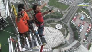 Ankur Gupta Bungee Jump from Macau Tower - AJ hackett 233 metres - 9 June 2016